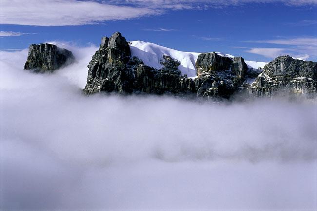 Ngga Glacier, Papua.